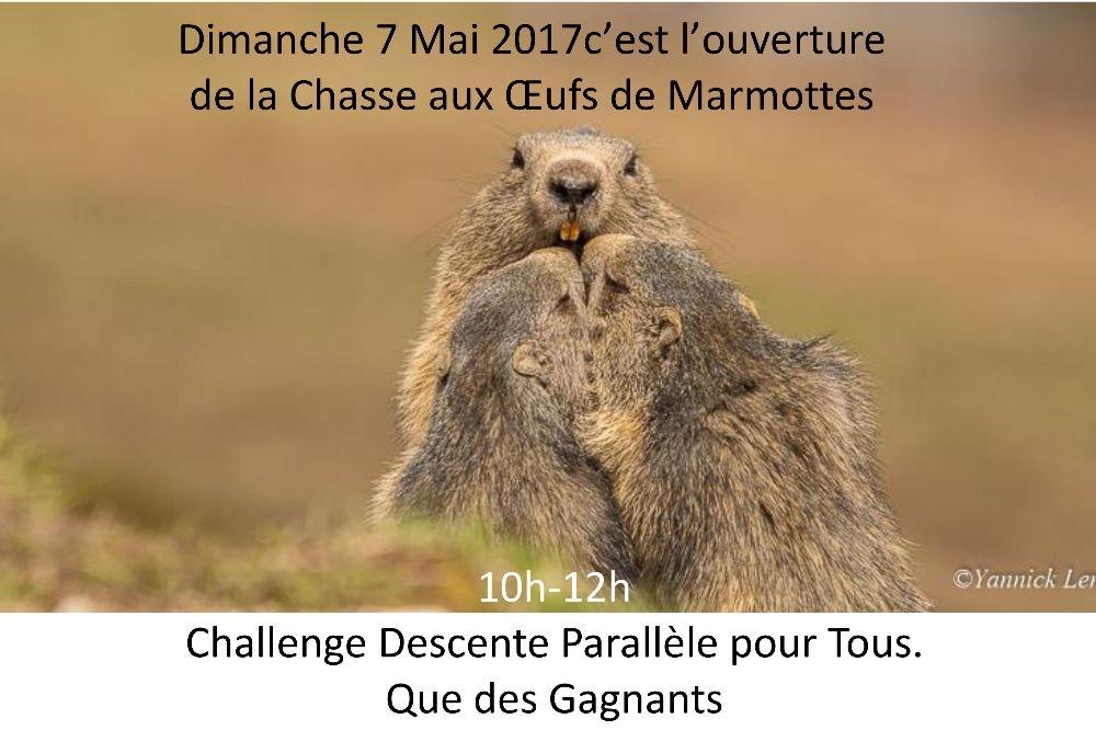 """Grande Chasse et Descente aux """"Oeufs"""" de Marmottes 2017"""