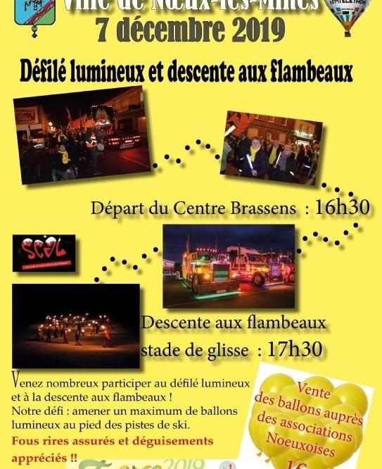 Téléthon 2019 Descente aux Flambeaux